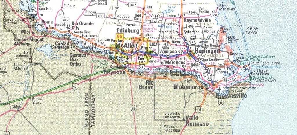 Rio Grand Valley Texas Map | Texas In 2019 | Rio Grande Valley - Map Of South Texas