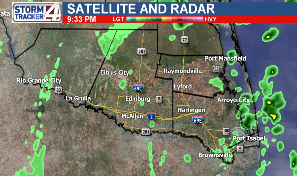 Rio Grande Valley Weather | News, Weather, Sports, Breaking News | Kgbt - Texas Forecast Map