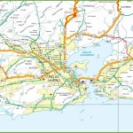 Rio Wegenkaart   Rio De Janeiro Road Map (Brazilië)   Printable Map Of Rio De Janeiro