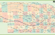Printable Road Map Of Nebraska