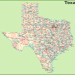 Road Map Of Texas With Cities   Google Road Map Of Texas
