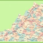 Road Map Of Virginia With Cities   Virginia State Map Printable