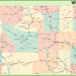 Road Map Of Wyoming With Cities   Printable Map Of Wyoming