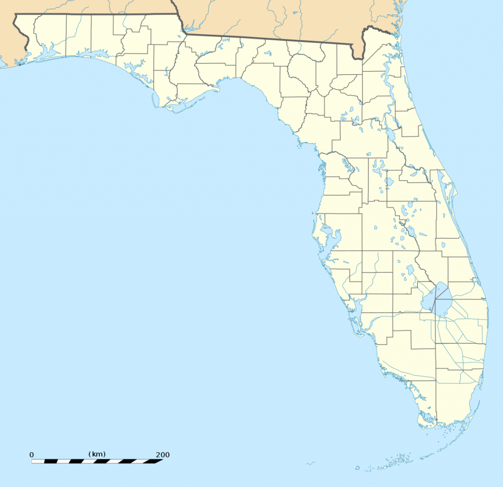 Rosewood Massacre - Wikipedia - Christmas Florida Map