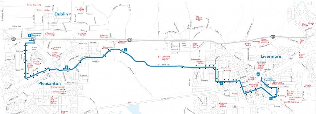 Route 14 | - Map Of Dublin California Area
