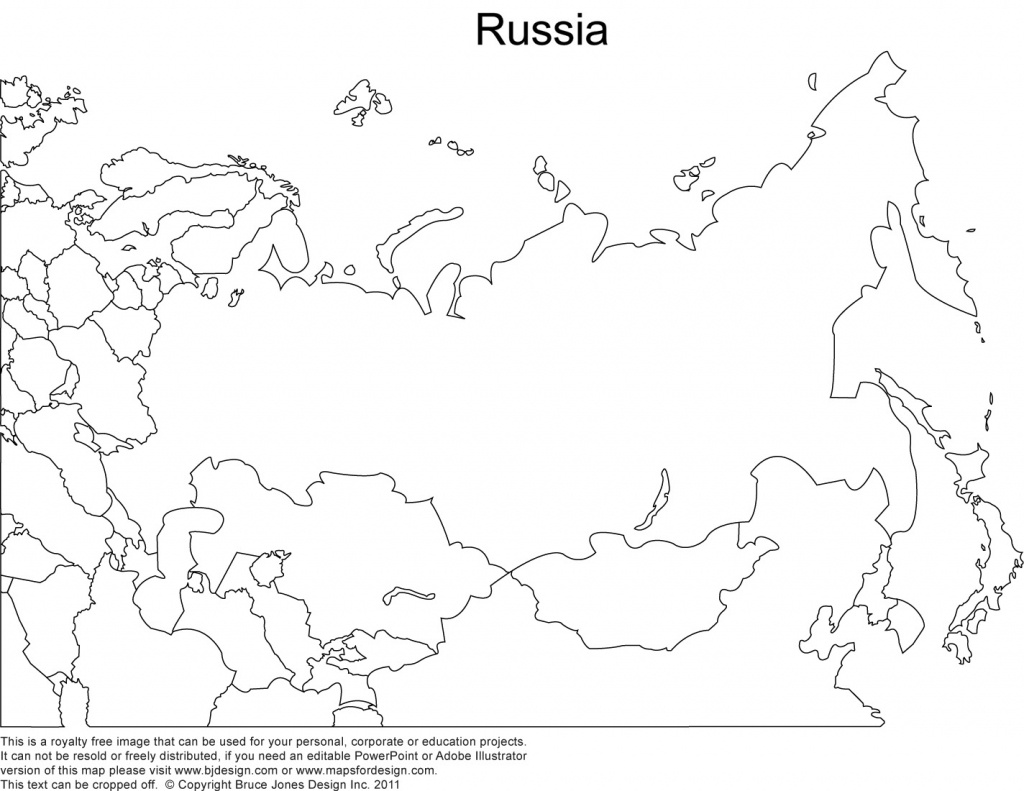 Russia Printable Copy Blank Outline Maps - Berkshireregion - Blank Outline Map Of Asia Printable