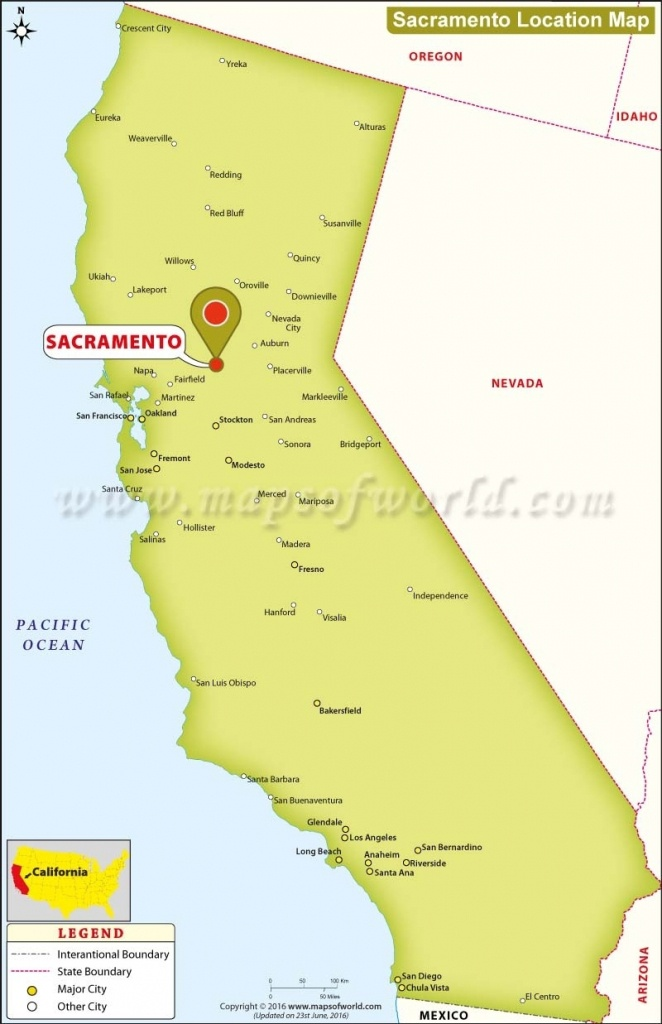Sacramento Location Map Image Gallery Map Sacramento California - Map To Sacramento California