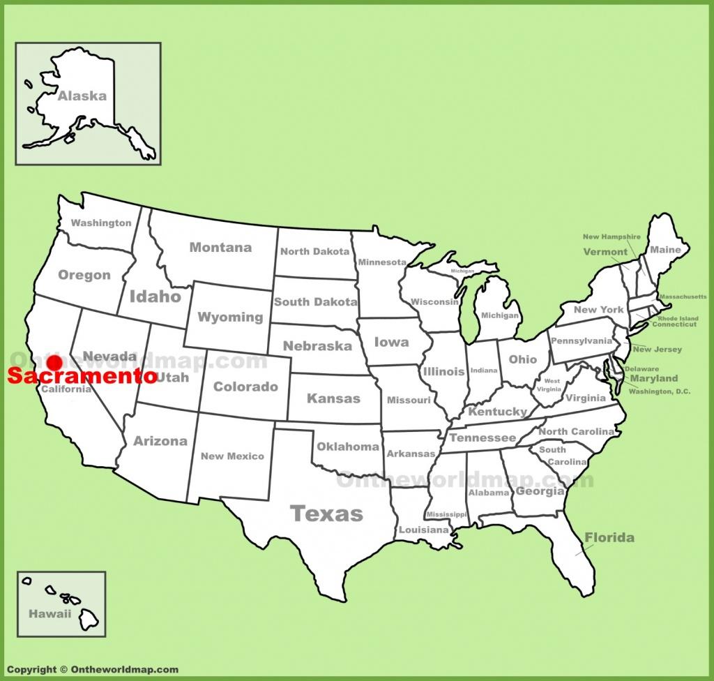 Sacramento Maps | California, U.s. | Maps Of Sacramento - Map To Sacramento California