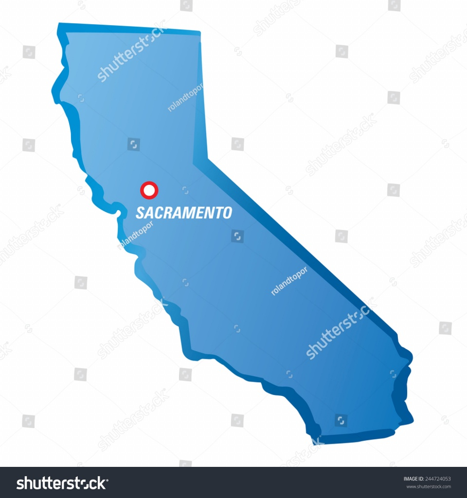 Sacramento On Map Of California And Travel Information | Download - Map To Sacramento California