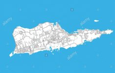 Saint Croix Printable Map Stock Photos & Saint Croix Printable Map – Printable Map Of St Croix
