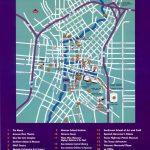San Antonio Downtown Tourist Map   San Antonio Tx • Mappery   Map Of Downtown San Antonio Texas