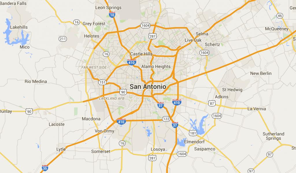 San Antonio, Tx Neighborhood Map - Best & Worst Neighborhoods - Map Of San Antonio Texas And Surrounding Area