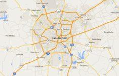 Map Of San Antonio Texas Area