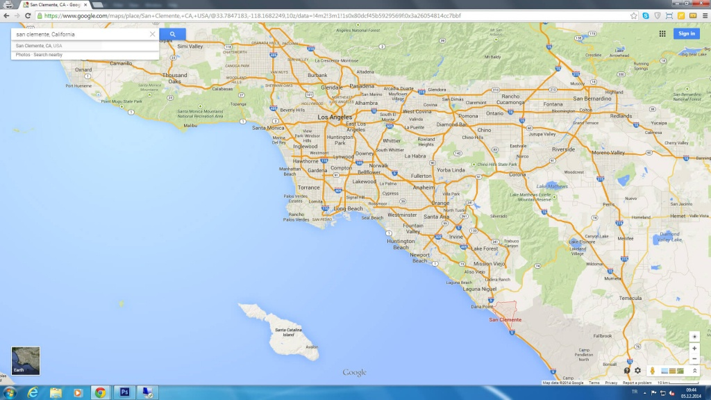 San Clemente California Map - San Clemente California Map