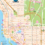 San Diego Map For Visitors   San Diego Attractions Map Printable