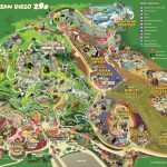 San Diego Zoo Map   San Diego Attractions Map Printable