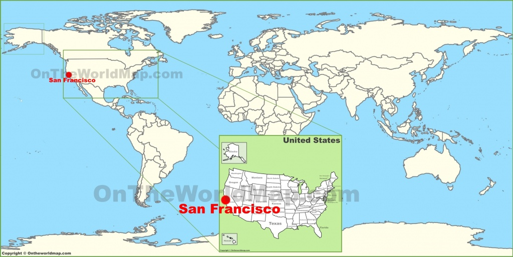 San Francisco Maps   California, U.s.   Maps Of San Francisco - Where Is San Francisco California On Map