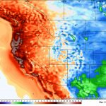 San Francisco Soars To 100 Degrees As Record Heat Wave Roasts   Weather Heat Map California