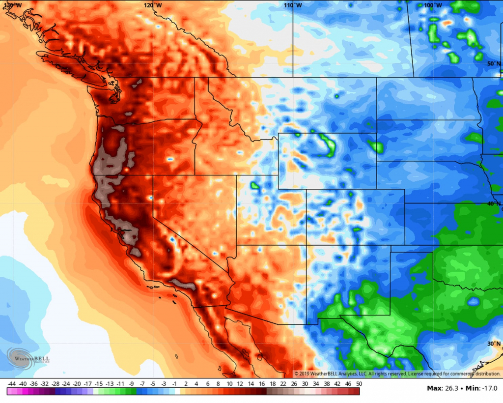 San Francisco Soars To 100 Degrees As Record Heat Wave Roasts - Weather Heat Map California