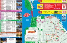 San Francisco Tourist Attractions Map – California Tourist Attractions Map
