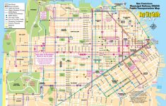 Printable Map Of San Francisco