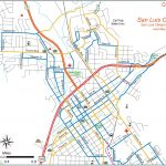 San Luis Obispo City Bike Map   Maplets   San Luis Obispo California Map