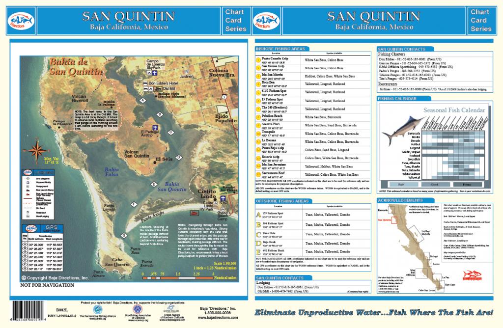 San Quintin - Baja Directions - San Quintin Baja California Map