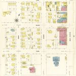 Sanborn Fire Insurance Map From Big Spring, Howard County, Texas   Howard County Texas Section Map