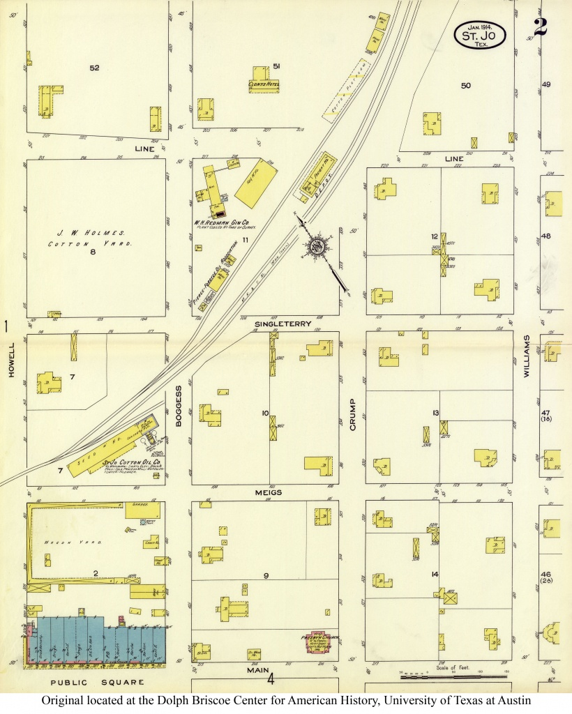 Sanborn Maps Of Texas - Perry-Castañeda Map Collection - Ut Library - Seguin Texas Map