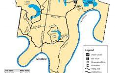 Texas Wildlife Refuge Map