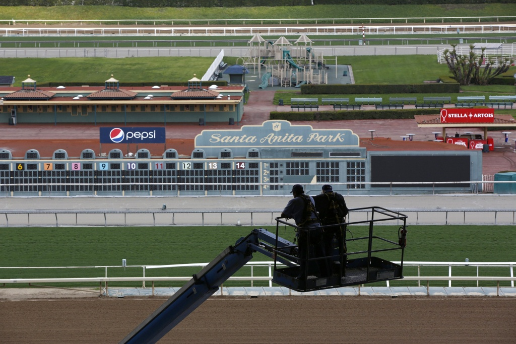 Santa Anita Bans Drugs, Limits Whips After 22Nd Horse Suffers Fatal - Horse Race Tracks In California Map
