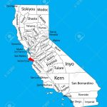 Santa Cruz County (California, United States Of America) Vector   Where Is Santa Cruz California On The Map
