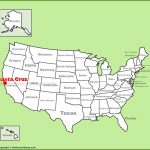 Santa Cruz Location On The U.s. Map   Where Is Santa Cruz California On The Map