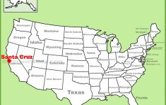 Santa Cruz Location On The U.s. Map – Where Is Santa Cruz California On The Map