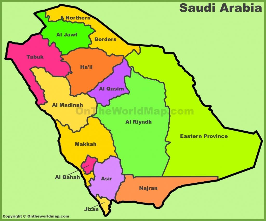 Saudi Arabian Maps   Maps Of Saudi Arabian - Printable Map Of Saudi Arabia