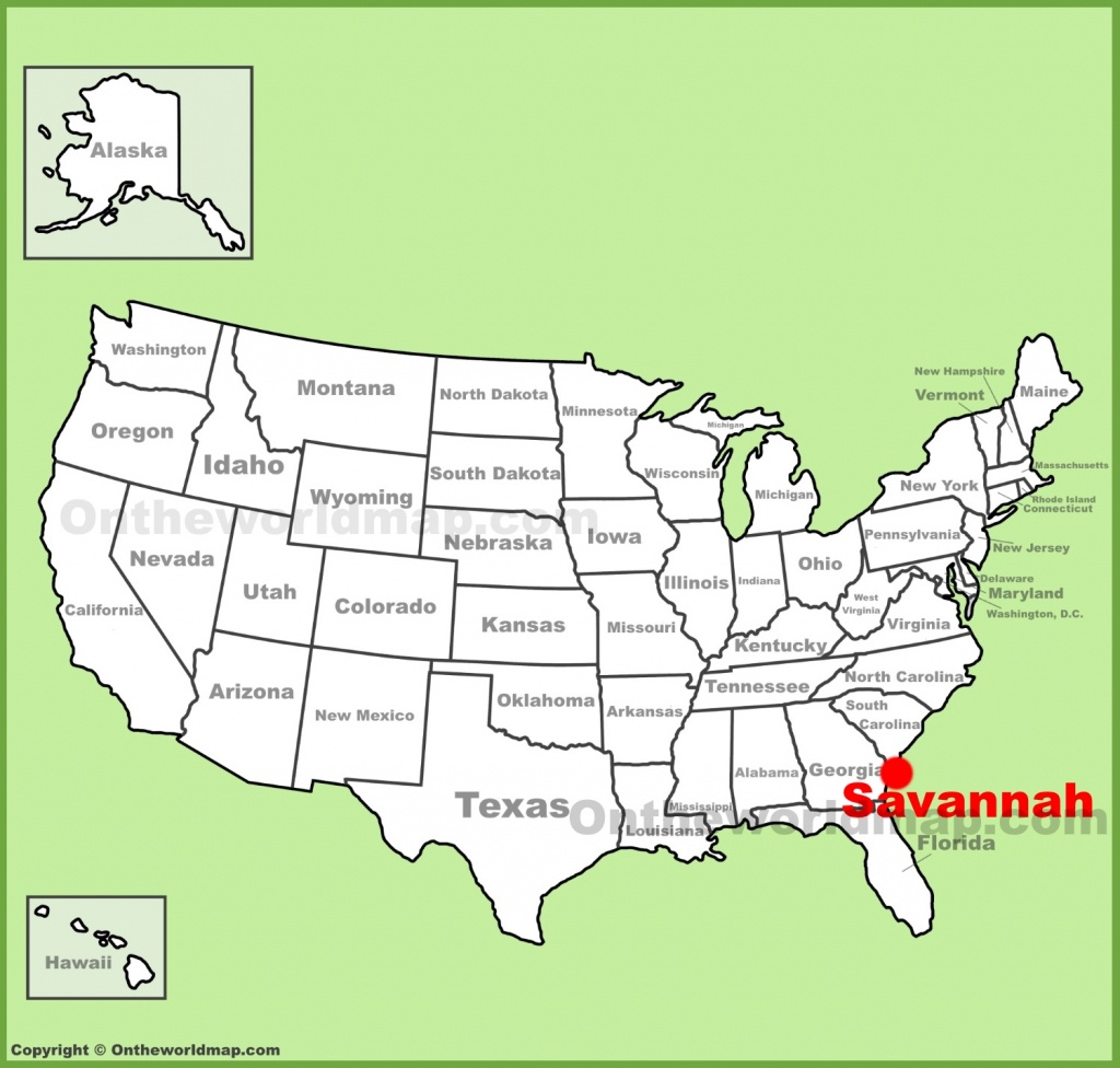 Savannah Maps | Georgia, U.s. | Maps Of Savannah - Printable Map Of Savannah