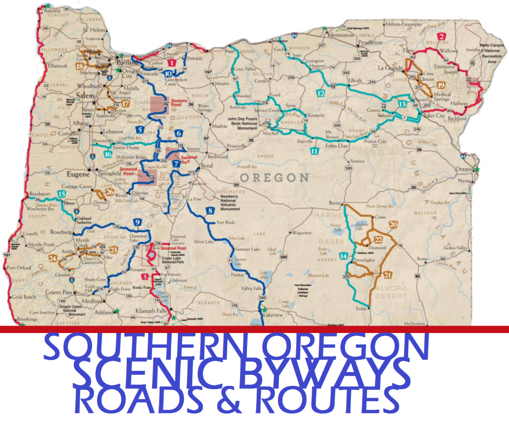 Scenic Byways - Expert Properties - Scenic Byways California Map
