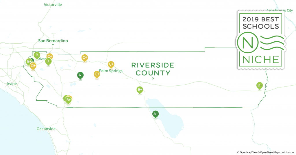 School Districts In Riverside County, Ca - Niche - California School District Rankings Map
