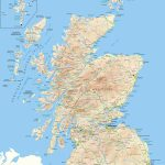 Scotland Offline Map, Including Scottish Highlands, Galloway, Isle   Printable Map Of Mull