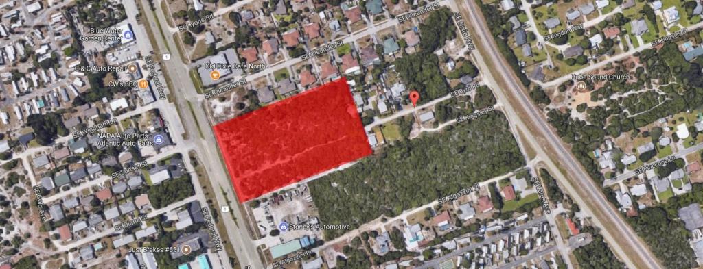 Se Byrd Rd - Google Maps   Florida Commercial - Google Maps Stuart Florida