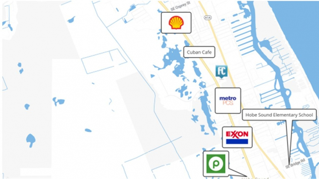 Se Federal Hwy, Hobe Sound, Fl 33455 - Land For Sale - 4 Acre Us#1 - Hobe Sound Florida Map