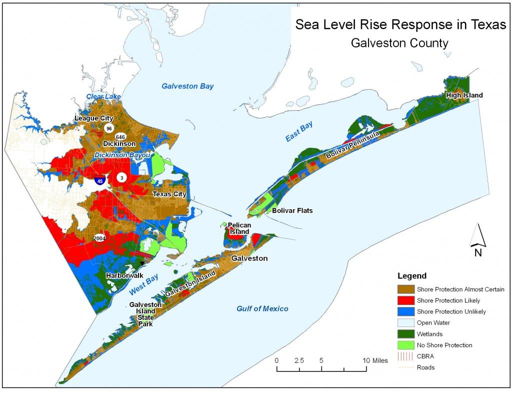 Sea Level Rise Planning Maps: Likelihood Of Shore Protection In Florida - Orange County Texas Flood Zone Map