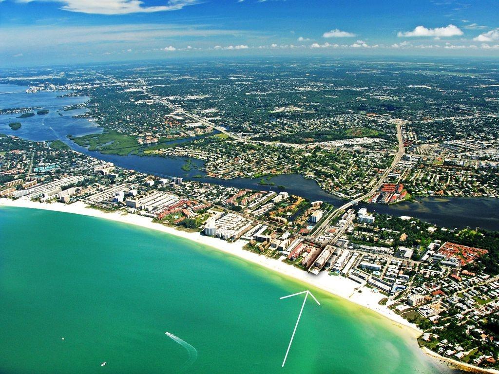 Sea Shell - Siesta Key Beachfront Vacation Condo Complex On - Map Of Siesta Key Florida Condos