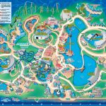 Seaworld Orlando Theme Park Map   Orlando Fl • Mappery | Aquariums   Seaworld Orlando Park Map Printable