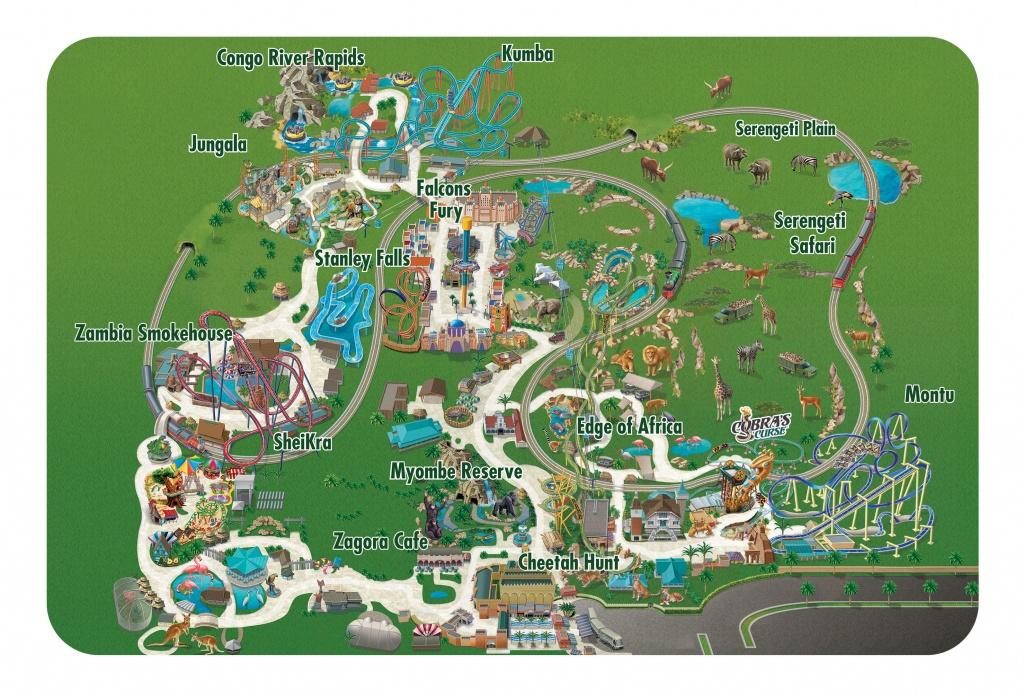 Seaworld Parks & Entertainment | Know Before You Go | Busch Gardens - Bush Garden Florida Map