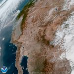 See What California Wildfire Smoke Looks Like From Space | Time   Live Satellite Map California