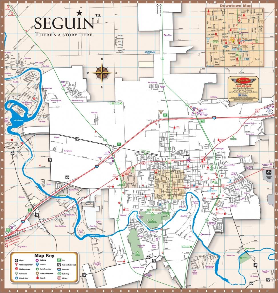 Seguin Texas Map - World Maps - Seguin Texas Map