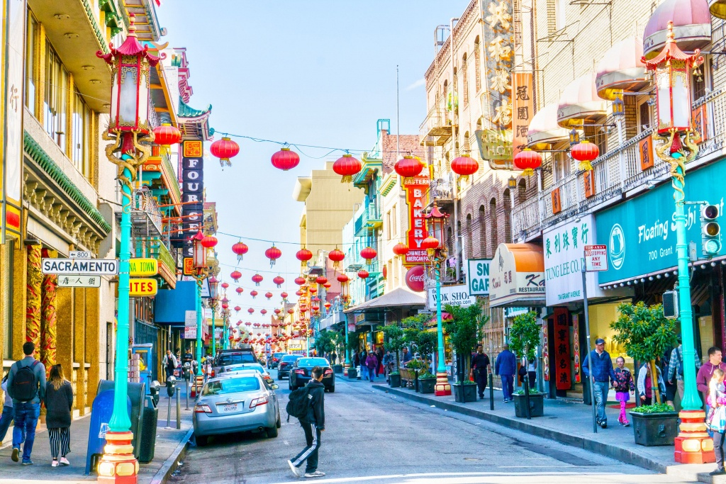 Self-Guided Walking Tour Of San Francisco Chinatown - Printable Map Of Chinatown San Francisco
