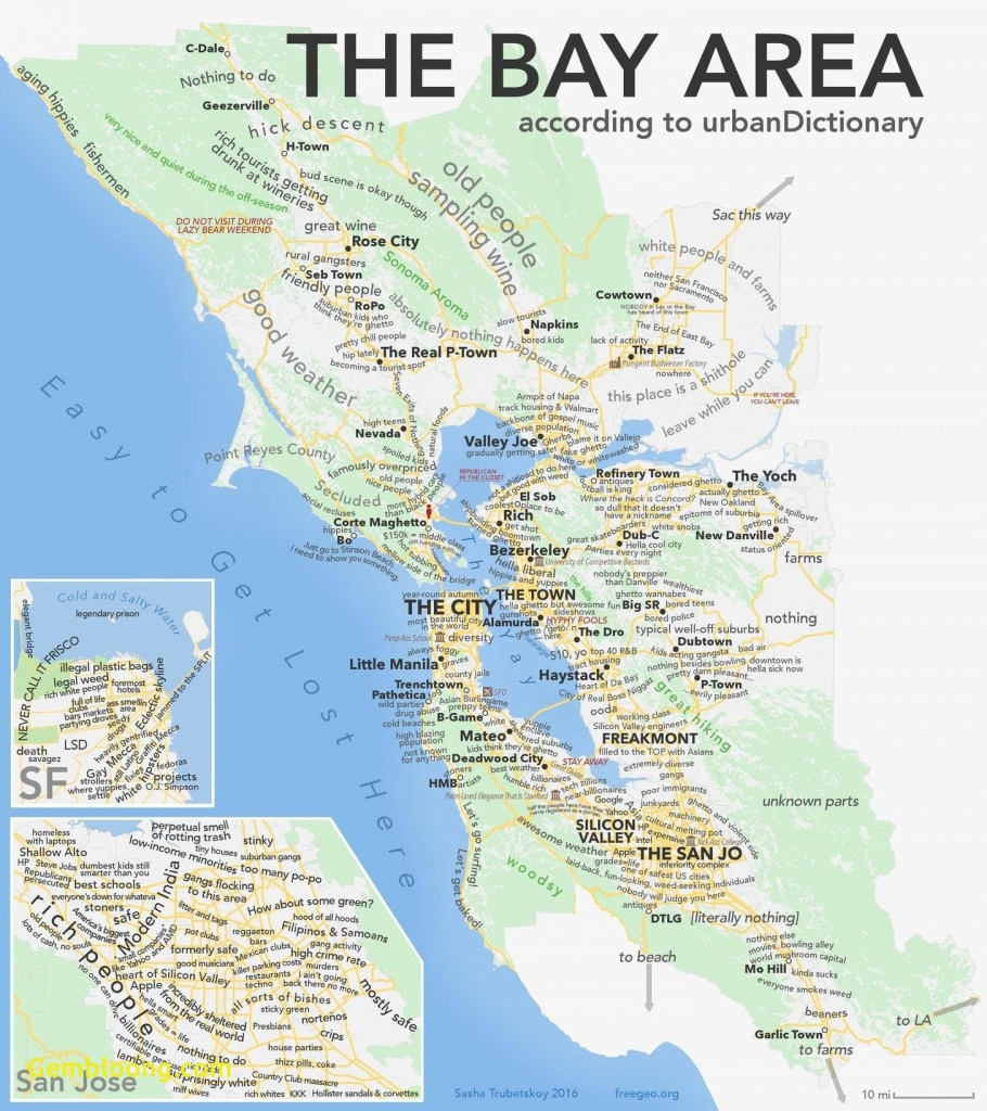 Sf Bay Area Map Google San Francisco California New As Promised The - Map Of San Francisco Area California
