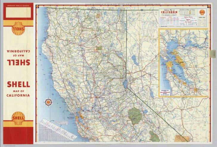 Northern California Highway Map